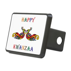 Happy Masonic Kwanzaa Hitch Cover