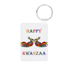 Happy Masonic Kwanzaa Keychains