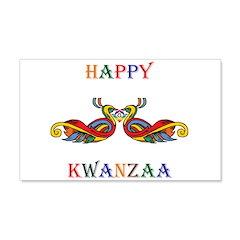 Happy Masonic Kwanzaa Wall Decal