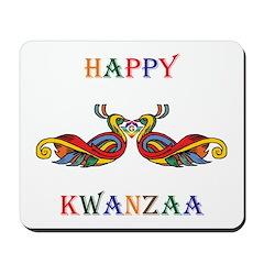 Happy Masonic Kwanzaa Mousepad
