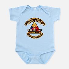 Army - DS - 2nd AR Div Infant Bodysuit