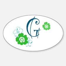 Letter G Decal