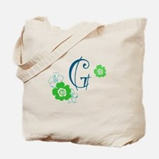 Letter G Tote Bag