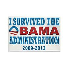 Survived Obama Rectangle Magnet