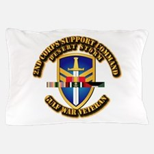 Army - DS - 2nd COSCOM Pillow Case
