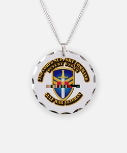 Army - DS - 2nd COSCOM Necklace