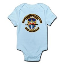 Army - DS - 2nd COSCOM Infant Bodysuit
