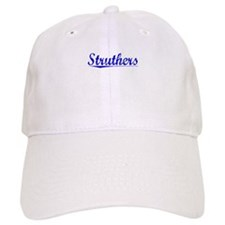 Struthers, Blue, Aged Baseball Cap
