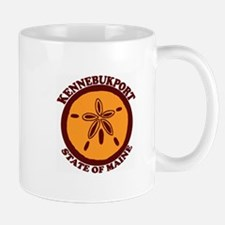 Kennebunkport ME - Sand Dollar Design. Mug
