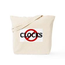 Anti CLOCKS Tote Bag