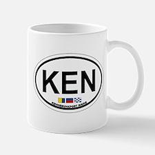 Kennebunk ME - Oval Design. Mug