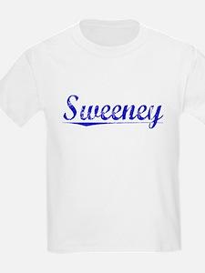 Sweeney, Blue, Aged T-Shirt