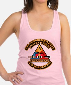 Army - DS - 3rd AR Div Racerback Tank Top