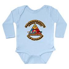 Army - DS - 3rd AR Div Long Sleeve Infant Bodysuit