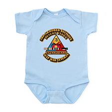 Army - DS - 3rd AR Div Infant Bodysuit