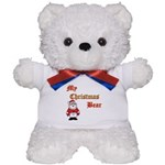 Christmas huggy Teddy Bear