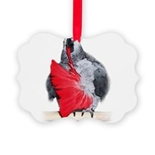 african grey, parrot Ornament