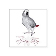 "africangreygifts.jpg Square Sticker 3"" x 3"""