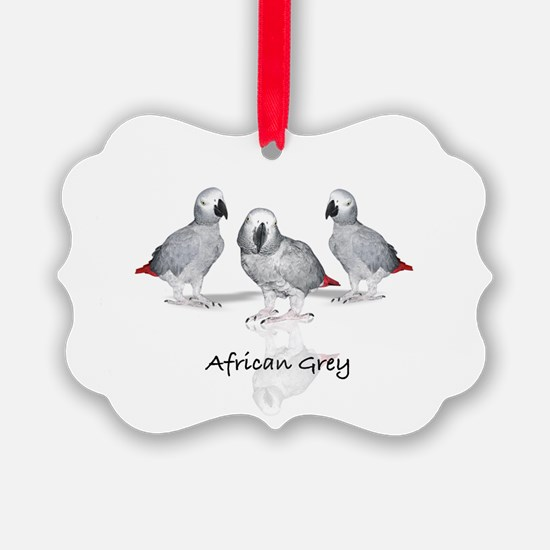 african grey parrot Ornament
