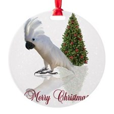 cockatoo christmas Ornament
