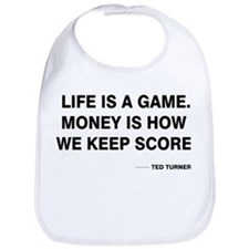 Life is a game Bib