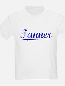 Tanner, Blue, Aged T-Shirt