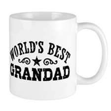 World's Best Grandad Small Mug