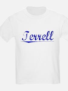 Terrell, Blue, Aged T-Shirt