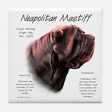 Mahogany Neo Tile Coaster