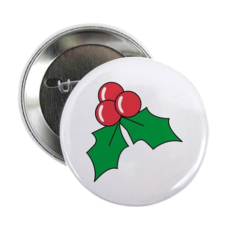 """Christmas 2.25"""" Button (10 pack)"""