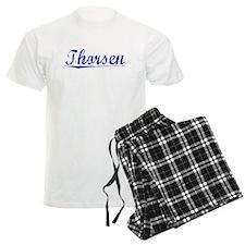 Thorsen, Blue, Aged Pajamas
