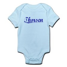 Thorsen, Blue, Aged Infant Bodysuit