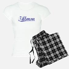 Tillmon, Blue, Aged Pajamas
