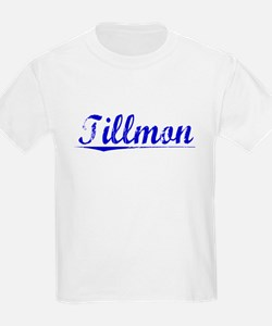 Tillmon, Blue, Aged T-Shirt