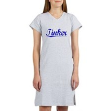 Tinker, Blue, Aged Women's Nightshirt