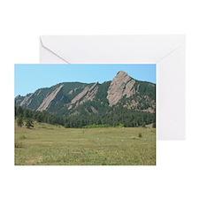 Flat Iron Mountains Greeting Cards (Pk of 10)