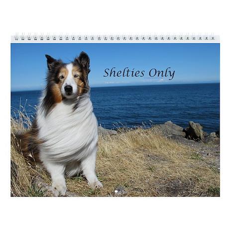 Shetlties Only Wall Calendar