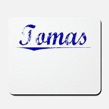 Tomas, Blue, Aged Mousepad