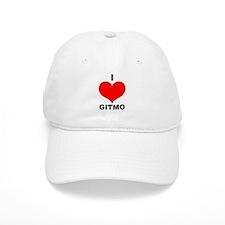 I Love Gitmo Baseball Cap