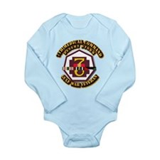 Army - DS - 7th MEDCOM Long Sleeve Infant Bodysuit