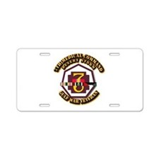 Army - DS - 7th MEDCOM Aluminum License Plate