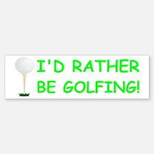 golfball large bumper.png Bumper Bumper Sticker