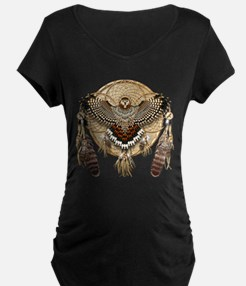 Red-Tail Hawk Dreamcatcher Maternity T-Shirt
