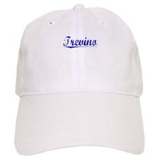 Trevino, Blue, Aged Baseball Cap