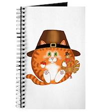 Bauble Cat Thanksgiving Journal