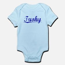 Tuohy, Blue, Aged Infant Bodysuit