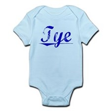 Tye, Blue, Aged Infant Bodysuit