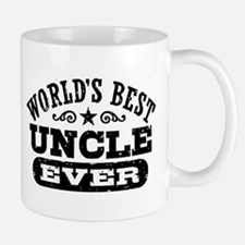 World's Best Uncle Ever Mug