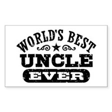 World's Best Uncle Ever Decal