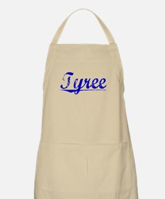 Tyree, Blue, Aged Apron